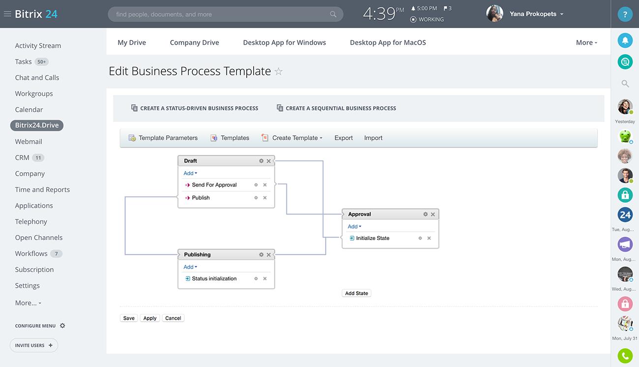 Bitrix24 | Design obchodního procesu